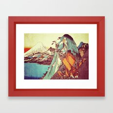 Rapture at Kunimata Framed Art Print