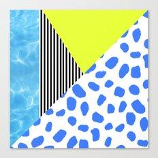 Post Modern Summer Canvas Print