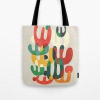 cactus Tote Bags featuring Cactus by Picomodi