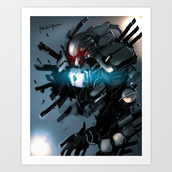 Cryogenic Art Print