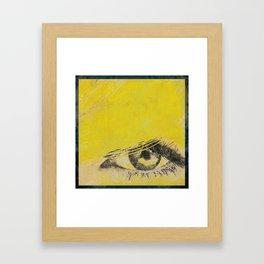Rare View   Pop-Art Glamour EYE Framed Art Print