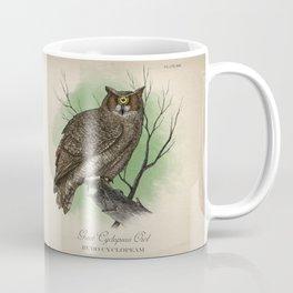 Great Cyclopean Owl Coffee Mug