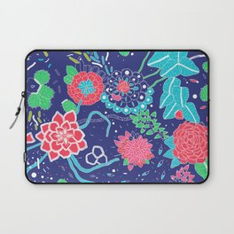 Flowers and Cactus Laptop Sleeve