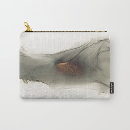 Abstract hand painted alcohol ink texture Carry-All Pouch