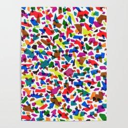 Terrazzo Confetti Poster
