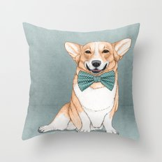Corgi Dog Throw Pillow