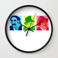 marx Wall Clocks featuring The Trinity by Rachcox