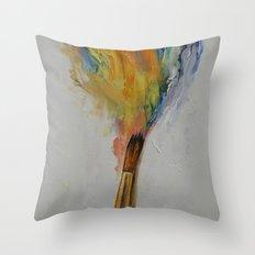 Paint Throw Pillow
