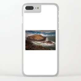Strumble Head Lighthouse Clear iPhone Case
