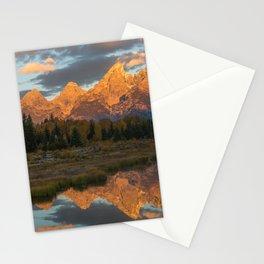 Sunrise On The Snake River Stationery Cards