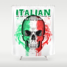 To The Core Collection: Italy Shower Curtain