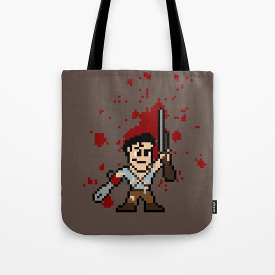 Pixel of Darkness Tote Bag
