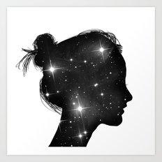 Star Sister Art Print