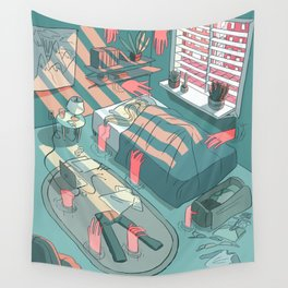 invading spaces Wall Tapestry