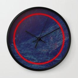 Keeper Of Secrets | Abstract Art Wall Clock