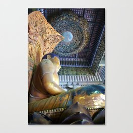 House of Buddha Canvas Print