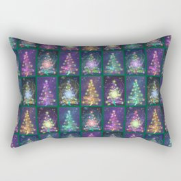 Christmas greetings from the cosmos Rectangular Pillow