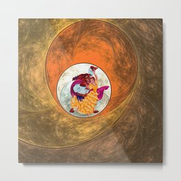 beauty andthe beast dance Metal Print