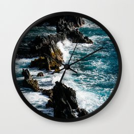 Exposed to the Elements Wall Clock