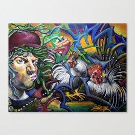 Cockadoodle Doo Canvas Print