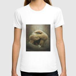 Study of a Gibbon - The Thinker T-shirt