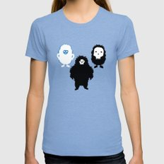 The Gruesome 3 Tri-Blue MEDIUM Womens Fitted Tee