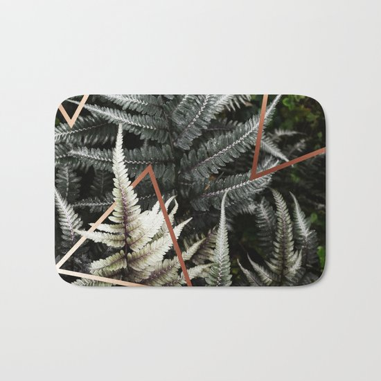 Fern + Copper #society6 #decor #buyart Bath Mat