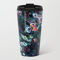 Night Garden Metal Travel Mug