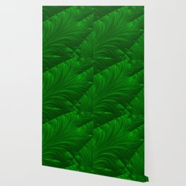 Renaissance Green Wallpaper