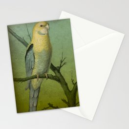 2 Parrots Stationery Cards