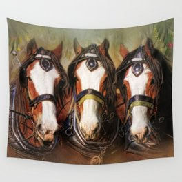 Pioneers Wall Tapestry