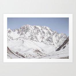 Caucasus Mountains Art Print
