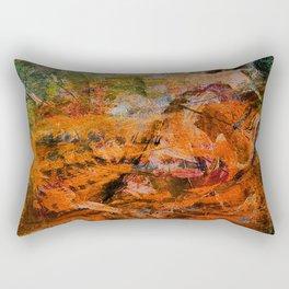 Tiger Chinese Horoscope Rectangular Pillow