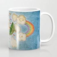 rain Mugs featuring Rain by José Luis Guerrero