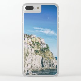 Manarola, Cinque Terre in Italy Clear iPhone Case