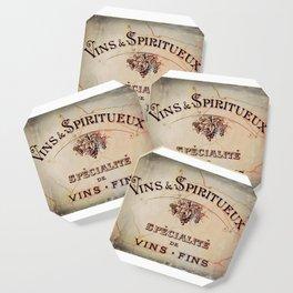 Vins & Spiritueux Coaster