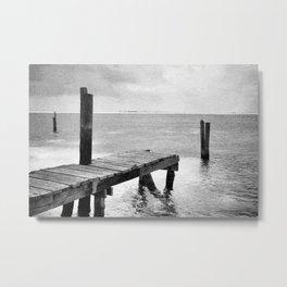 dock it Metal Print