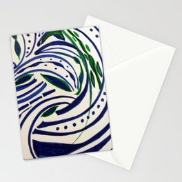 Water Flowing Plant Stationery Cards