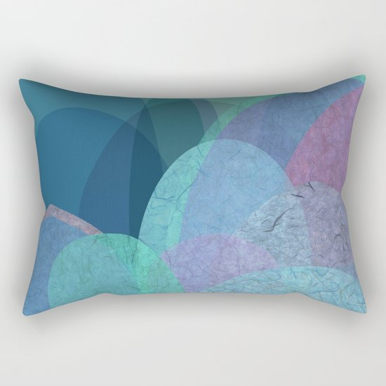It is not the mountain we conquer but ourselves Rectangular Pillow