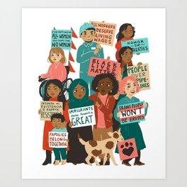 We The People Art Print