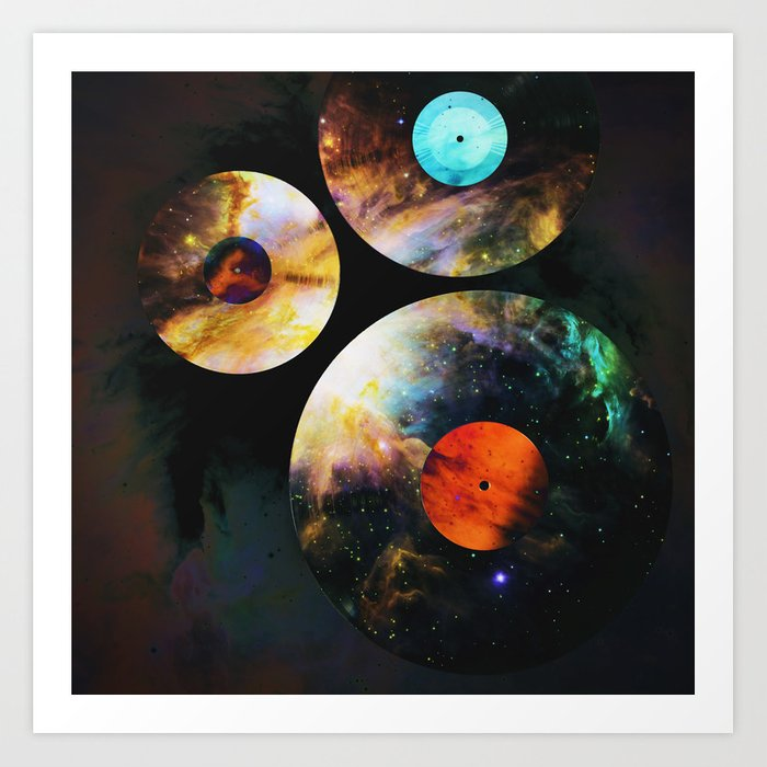 Space-LP Kunstdrucke