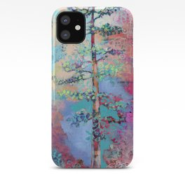 The Resilience of Time Redwood Tree Collage by Jenlo iPhone Case