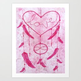 Dreams Come True: sweetheart  Art Print