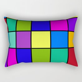 Abstract #6 Rectangular Pillow
