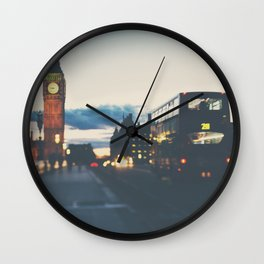 the night bus ...  Wall Clock