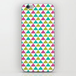 Bright Triangles iPhone Skin