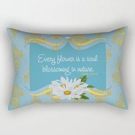 Royal Chrysanthemums Rectangular Pillow