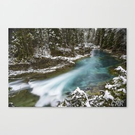 Blaeberry River Canvas Print
