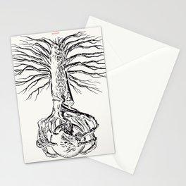 Yggdrasil, Odin's sacred tree Stationery Cards