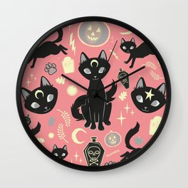 Witch Babies Wall Clock